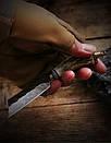 Нож коллекционный Дамаск DM-01, фото 3
