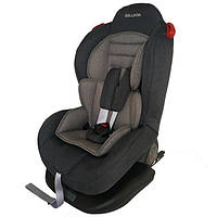 Автокресло детское надежное автомобильное Welldon Smart Sport Isofix (графитовы/серый)