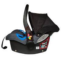 Автокресло детское надежное автомобильное Welldon Diadem New + База ISOFIX для детей до 13 кг