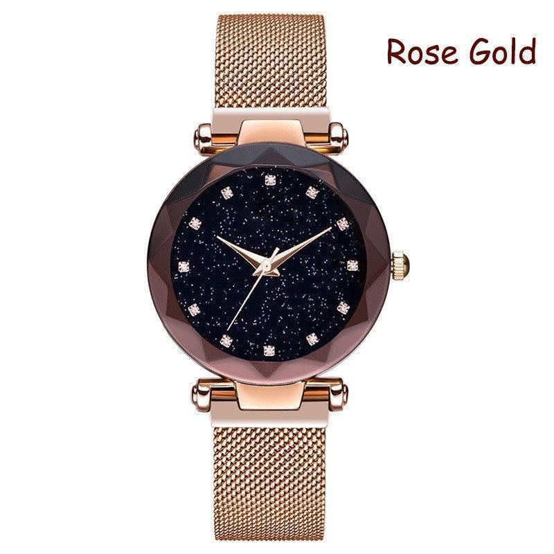 Наручные  женские часы Sky Watch (Розовые)
