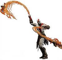 Фигурка Кратоса с Огненными мечами Афины - Kratos with flaming blades of Athena, Neca