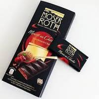 Шоколад черный Moser Roth Sauerkirisch-Chili 85% какао вишня+перец чили 150г