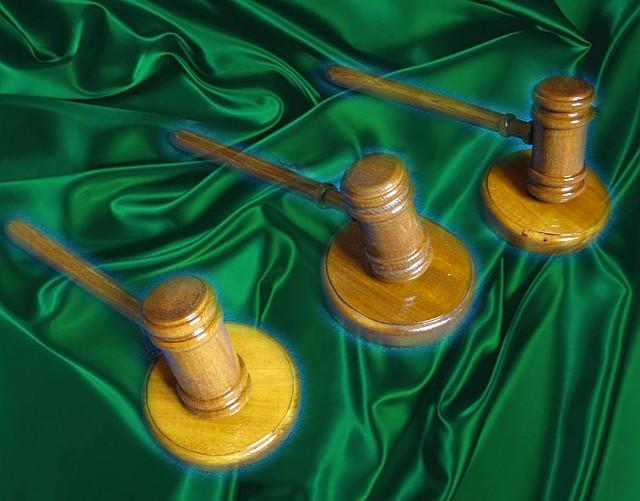 Молоток судьи дубовый