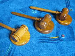 Молоток судьи дубовый, фото 3