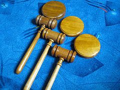 Молоток судьи дубовый, фото 2