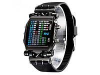 Светодионые спортивные часы для мужчин LED 2231 цифровые  Черный