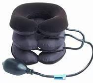 Надувной ортопедический воротник для шеи с системой пневматического вытяжения Tractors for cervical spine