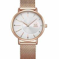 Shengke Женские часы Shengke Lady Gold