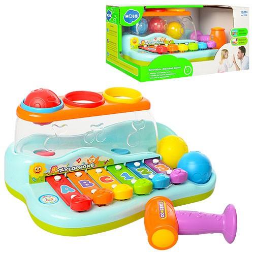 """Музыкальная игрушка """"Ксилофон"""" PlaySmart 9199"""