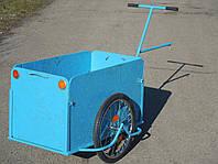 Грузовая тележка, вело прицеп с увеличенным кузовом  Везун-5 ГЛ