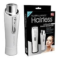 Триммер для удаления волос на лице NuBrilliance Hairless
