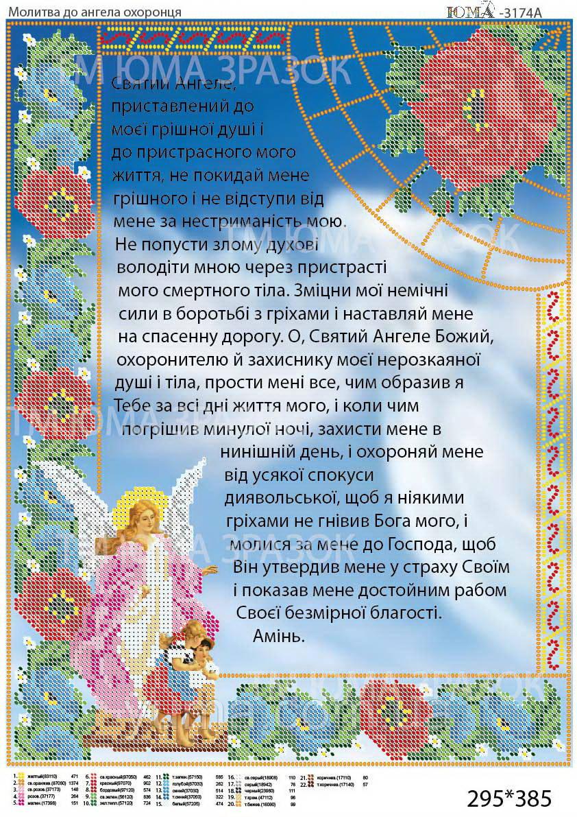 Молитва до ангела охоронця УКР.