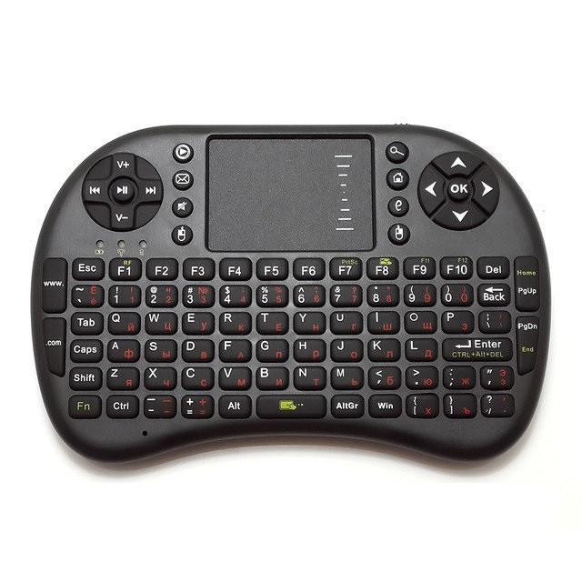 Мини беспроводная клавиатура-пульт KEYBOARD UKB 500