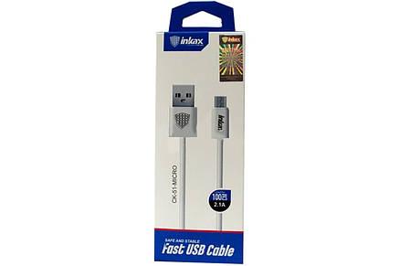 Кабель USB | Кабель-переходник | Кабель Iphone-USB Inkax CK-51-IP, фото 2