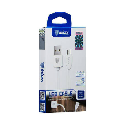 Кабель MicroUSB-USB Inkax CK-60-M, фото 2