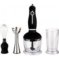 Кухонный измельчитель | Ручной блендер | Кухонный блендер с миксером 3 в 1 Promotec PM-590