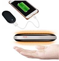 Внешний аккумулятор | Портативные зарядки | Power Bank Pebble Hand Warmer 5000 mAh с подогревом рук