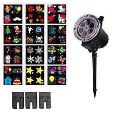 Портативний проектор з пультом Garden Projector Card change 12 слайдів, фото 3
