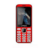 Мобільний телефон Sigma mobile X-style 33 Steel Red