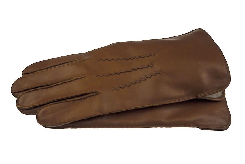 Перчатки кожаные IG модель 120 цвет кирпичный