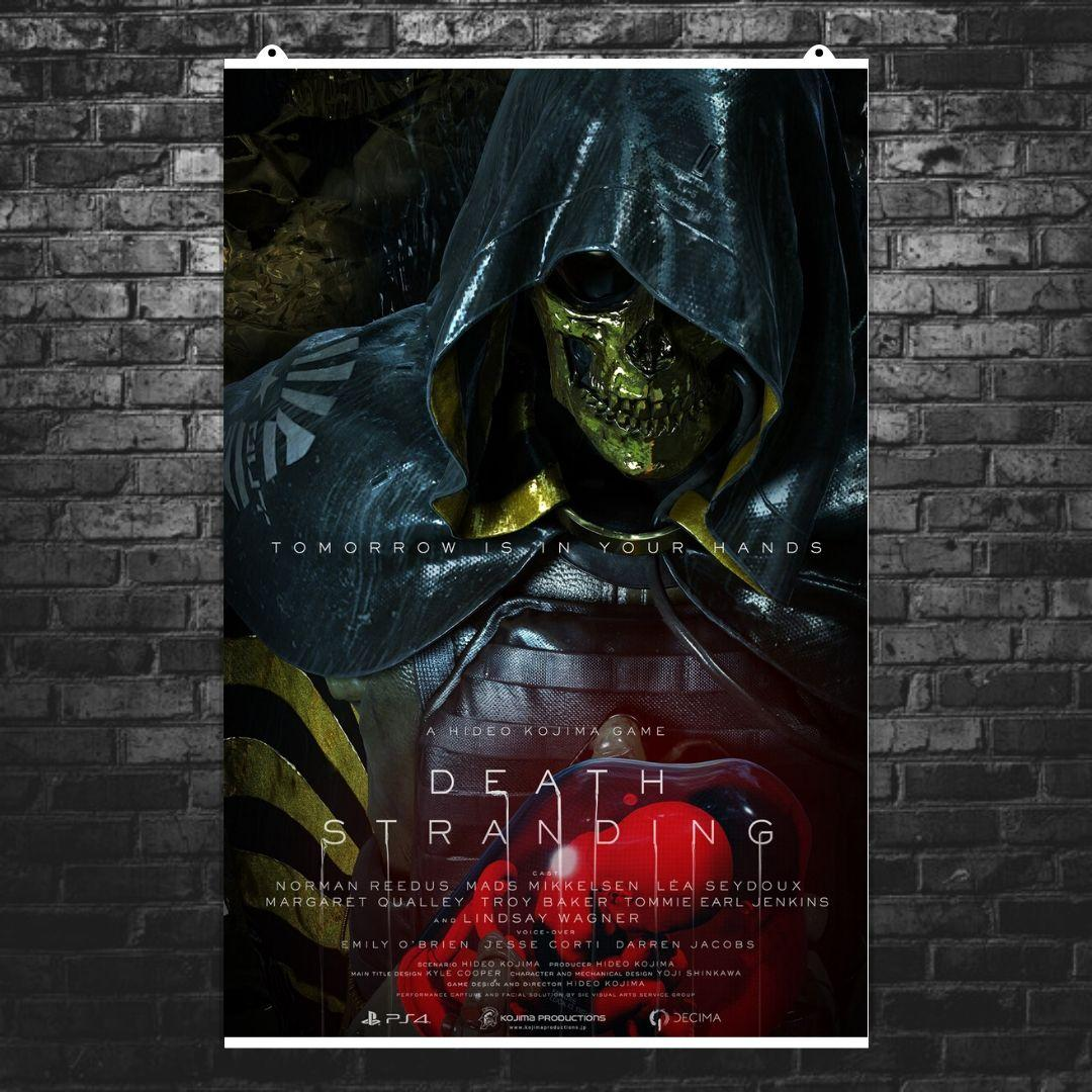 "Постер ""Death Stranding. Хиггс"". Трой Бейкер. Размер 60x39см (A2). Глянцевая бумага"