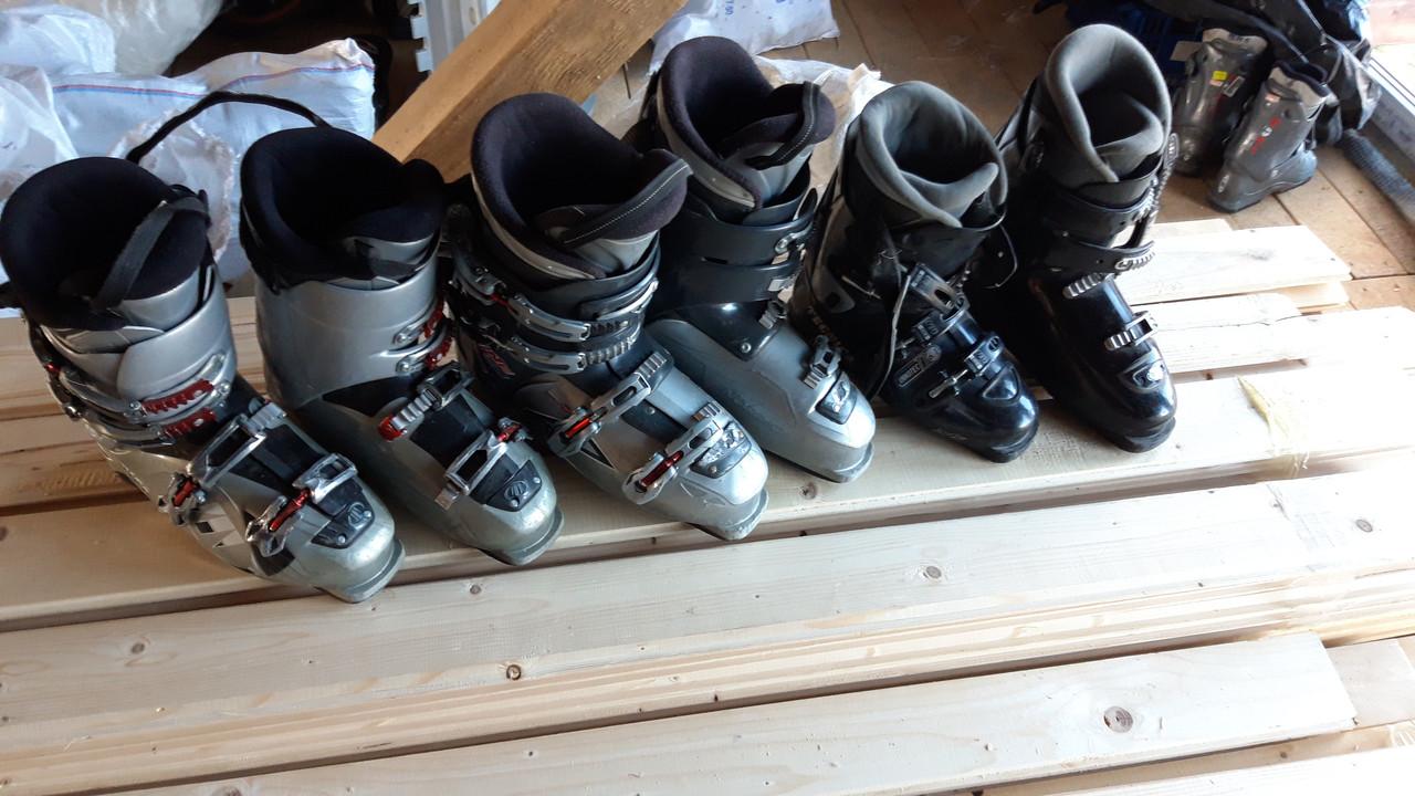 Б/у гірськолижні черевики | лижні черевики чоловічі