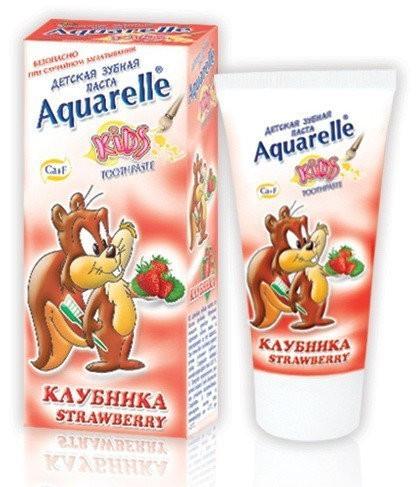 "Зубна паста для дітей Aquarelle ""Полуниця"" (50мл.)"