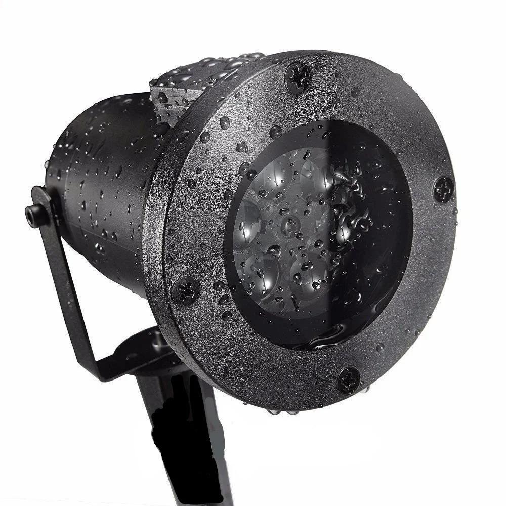 Лазерный проектор Star Shower WHITE Snowflake № WP1
