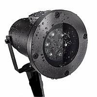 Лазерный проектор Star Shower WHITE Snowflake № WP1, фото 1