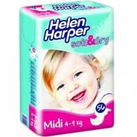 Підгузки Helen Harper Soft & Dry Midi 3 (4-9 кг) - 56 шт.