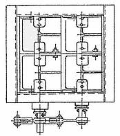 Клапан  прямоугольный двухосный ОН 536-02