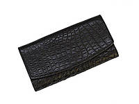 Кошелек из кожи крокодила Ekzotic Leather Черный (cw 95_2)