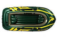 Лодка Intex Seahawk 3 (: 295*137*43 ) для активного отдыха,резиновые лодки, надувные лодки, насосы, весла, лод