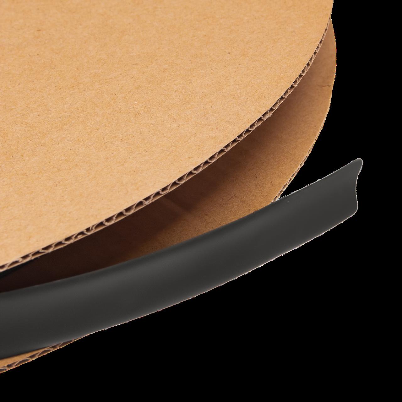 Термоусадочная трубка 12 mm  (черный)