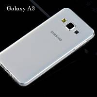 Чехол силиконовый Ультратонкий для Samsung A300H Galaxy A3 прозрачный