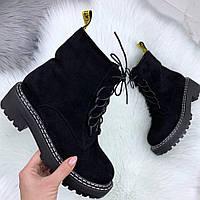 Модельные замшевые ботинки, фото 1