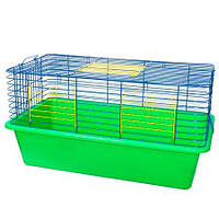 Клетка 80. 82*45*43. Для грызунов, фреток, кроликов, морских свинок и других экзотических животных.