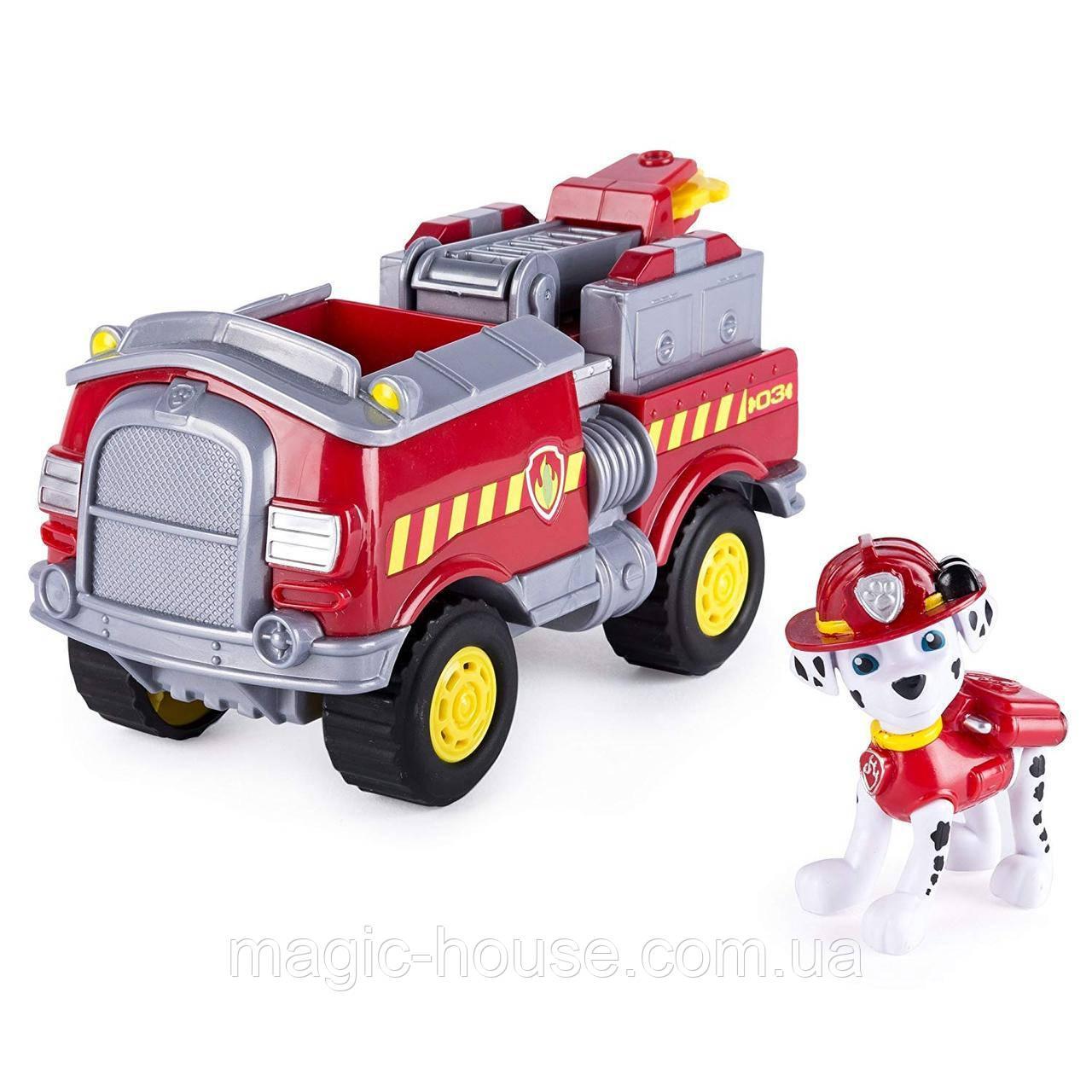 Paw Patrol Щенячий патрульМаршал на лесной пожарной машине