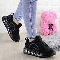 Женские кроссовки Valen черные 1375, фото 1