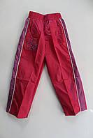 Спортивные брюки - плащевка 4 - 12 лет