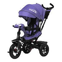 Детский трёхколёсный велосипед Cayman, «Tilly» (T-381/2), цвет Purple (фиолетовый в льне)