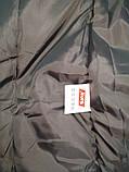 Зимнее пальто на девочку холлофайбер   158 р.  арт 66-479 Кузя серое., фото 6