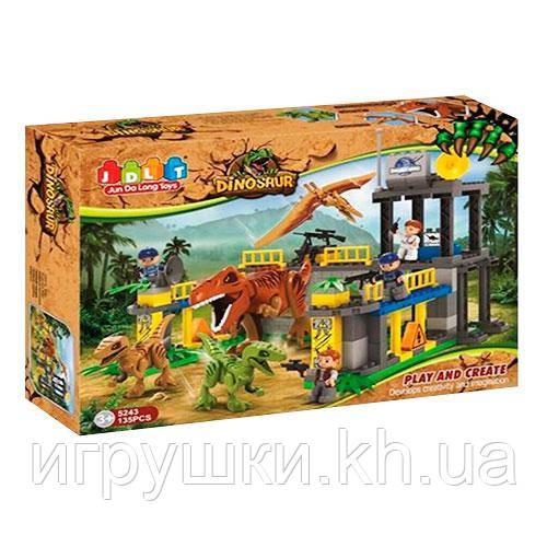 Конструктор JDLT 5243 Динозаври, 135 деталей