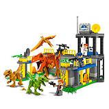 Конструктор JDLT 5243 Динозаври, 135 деталей, фото 2