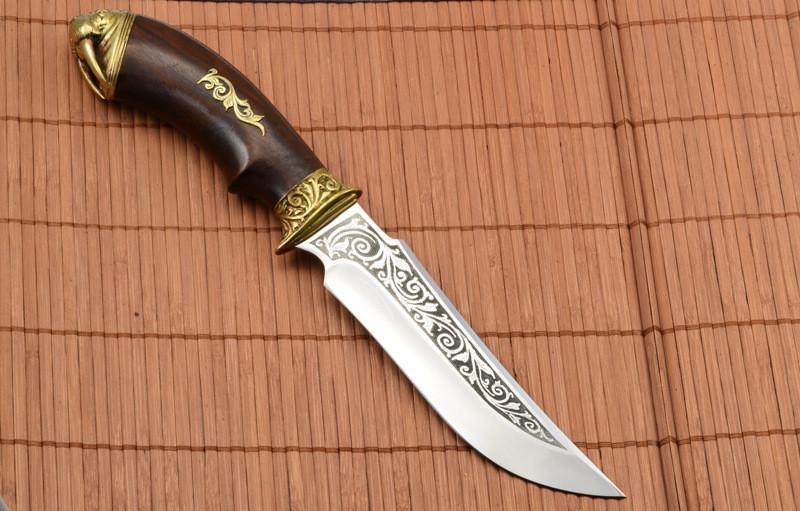 """Нож охотничий """"Морж """" ,сталь 40х13 ,Ручная работа"""