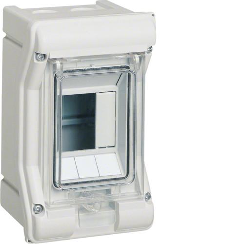 Щит распределительный 3-модульный наружного монтажа VECTOR Hager  (VE103D)