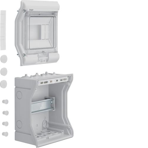 Щит распределительный на 6-модулей наружного монтажа VECTOR Hager  (VE106D)