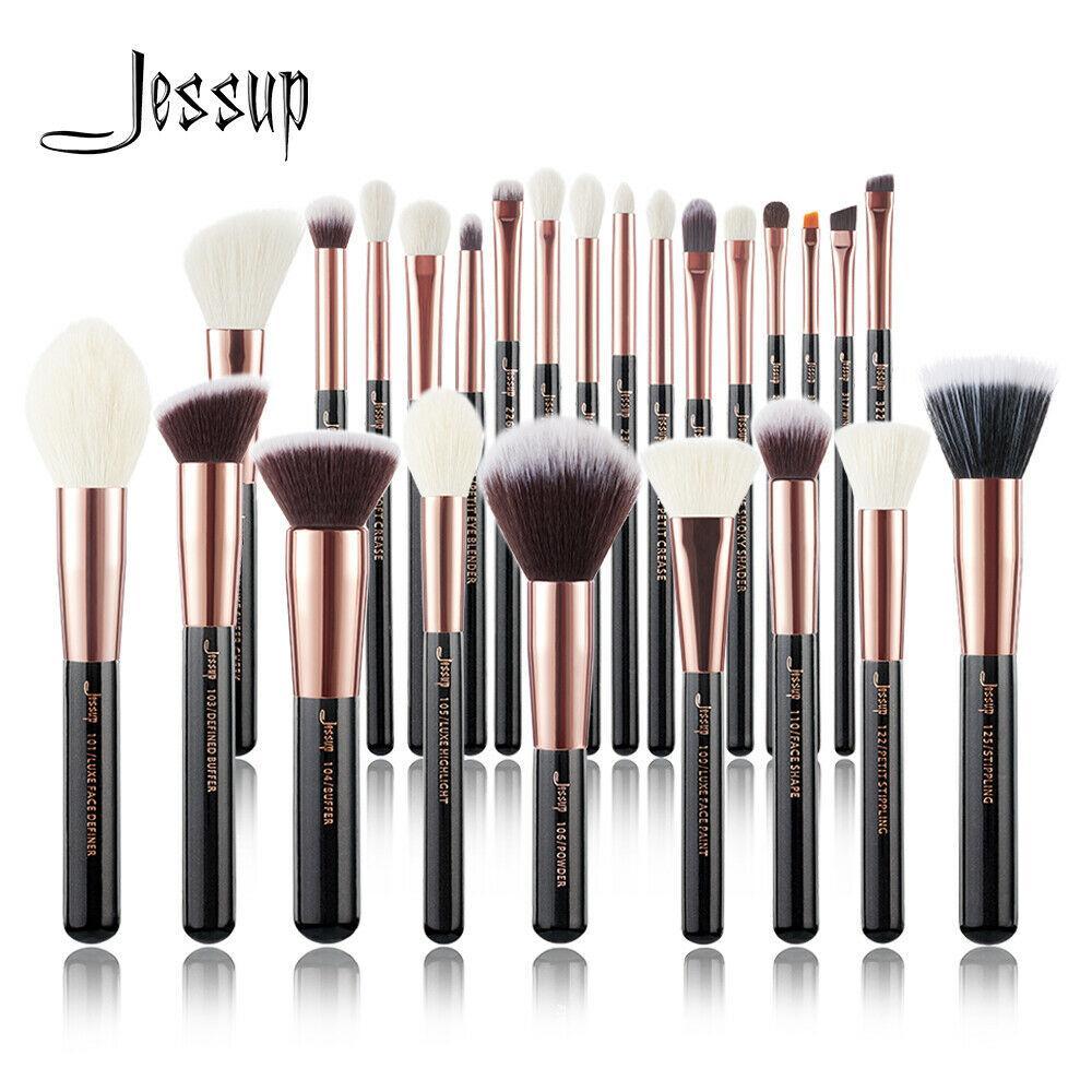 Кисти для макияжа Professional Jessup Makeup Brushes Set 25 шт