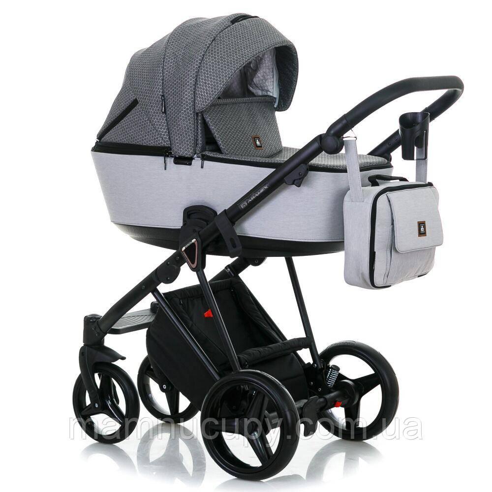 Детская универсальная коляска 2 в 1 Adamex Cristiano CR-110 (адамекс кристиано)