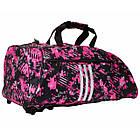 "Сумка-рюкзак Adidas 2in1 Bag ""Taekwondo"" Nylon, adiACC052 Розовая, фото 3"